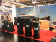Straight plc exhibited at #GAFA #2013. Showcasing our range of #water #butts #composting machines and other #water #saving #solutions