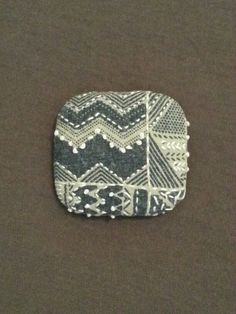 fabric brooch #7