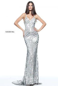 Sherri Hill 51206 | Bodycon Sequin Dress