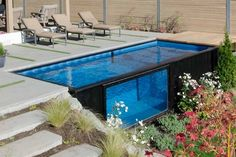Modpool Shipping Container Swimming Pool