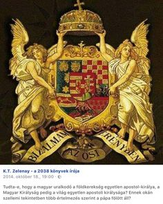 The Holy Crown and The Coat of arms of Hungary with the Two holding Archangels Francis Of Assisi, St Francis, Hungary History, Austrian Empire, Medieval Art, Historical Maps, Cartography, Coat Of Arms, Cool Pictures