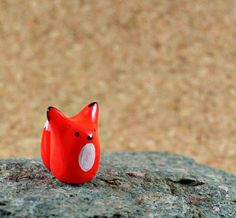Hey, I found this really awesome Etsy listing at https://www.etsy.com/listing/199980203/little-orange-fox-hand-sculpted