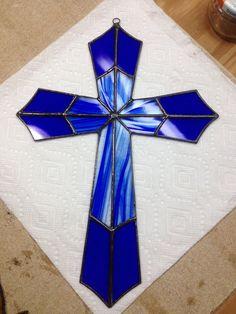 Cruz de vidrio