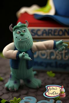 Monsters University cake | Flickr - Photo Sharing!