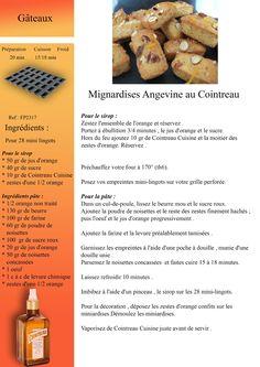 Mignardises angevine