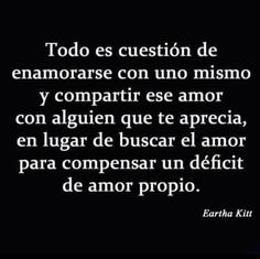 〽️ Todo es cuestión de enamorarse de uno mismo y compartir ese amor con alguien que te aprecia...