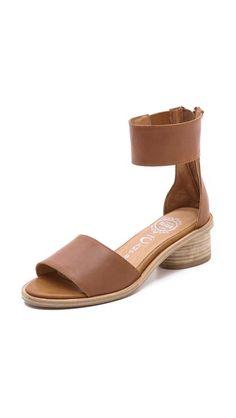 Jeffrey Campbell Borgia Low Heel Sandals