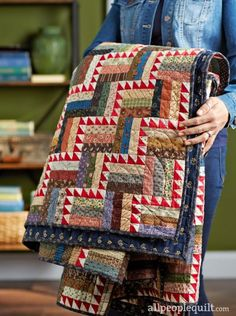 See the featured quilts and web-exclusive color options and projects from the /American Patchwork & Quilting/ August 2016 issue.