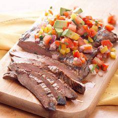 Cilantro-Lime Flank Steak