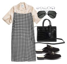 """""""Untitled #3986"""" by theeuropeancloset on Polyvore featuring Yves Saint Laurent and GUESS"""