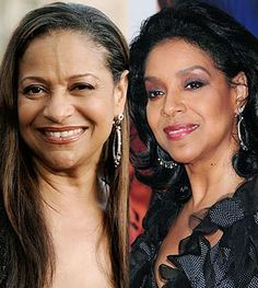Debbie Allen and Phyllicia Rashad (sisters)