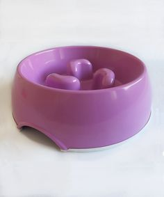 The DogMa Slow Feed Bowl is designed to slow down your dog's eating pace.