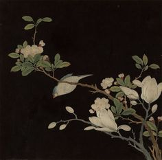 Anonymous, Qing dynasty (1644-1911) 冊, 絹本設色 Album leaf, colored lacquer painting on silk