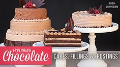 Exploring Chocolate Cakes, Fillings & Frostings