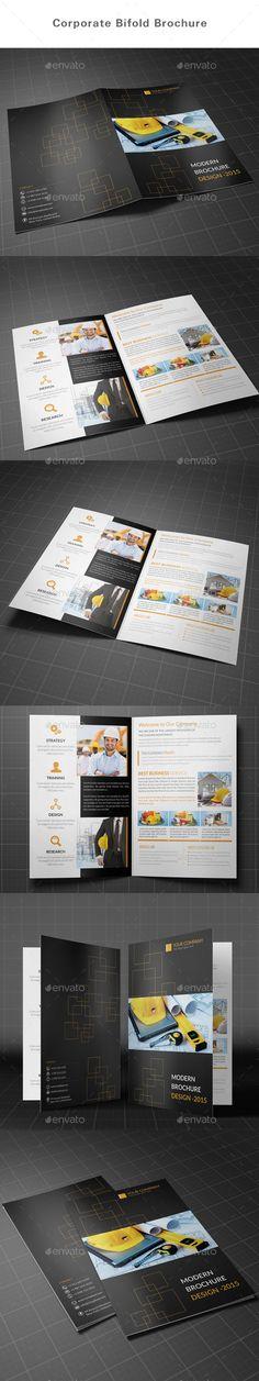 Bifold Brochure Template #design #broschüre Download: http://graphicriver.net/item/bifold-brochure/12326816?ref=ksioks