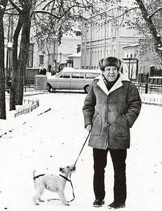 Юрий Никулин. Малоизвестные фотографии известных людей