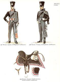 Prussian Lieb Hussar Uniforms