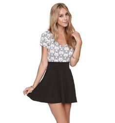 cute skirts with shirts | shoe cute short skirt in summer day ...