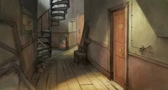 AnimeBackgrounds: The Illusionist / L'Illusionniste. Directed by...