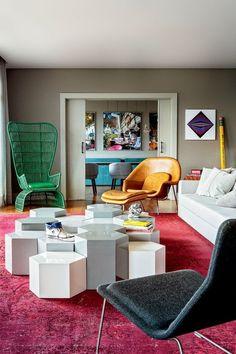 Casinha colorida: Design moderno e criativade