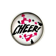 S-1191 Cheer Snap 20mm for Snap Charm Jewelry by SimpleEleganceCole on Etsy