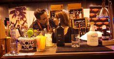En el stand de @brandtenders.news con @gintlemantour dando las indicaciones finales para el cóctel #evolutionspirits
