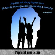 keep choosing joy every day