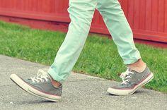 MINT PANTS. ^^