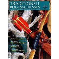 Trdaditionell Bogenschiessen ist ein wunderbares und Deutschlands einziges Magazin für traditionelles Bogenschiessen. Alles drin: von Recurve bis Langbogen.  Jetzt im Zeitungsladen oder Bahnhofsbuchhandel zu kaufen.