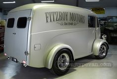 Australian Vans : Morris J-Type Van