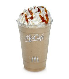 McDonald's McCafe Frappe Caramel can beat Starbuck's Frappucino anytime. It's cheap and best of all it's refreshing.