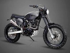 Une Scrambler 125cc, cela vous paraît farfelu ? Bullit Motorcycles prouve que non avec sa grande nouveauté 2017, la Hero 125. Présentation en détails !