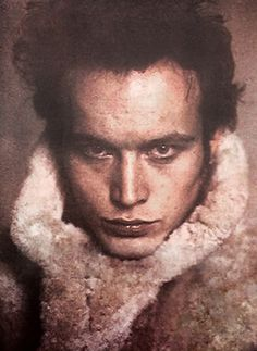 Adam Ant, the most interesting *real* photo I've ever seen of him. Uncredited on Pinterest.