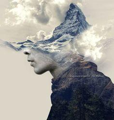 Bellamy Blake | Photo Manipulation | Double Exposure