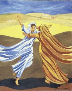 """Mary Visits Elizabeth"" | Hanna-Cheriyan Varghese"