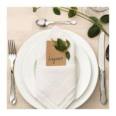 GULLMAJ Napkin  - IKEA / white lace napkin / $5.99 / 2 pack