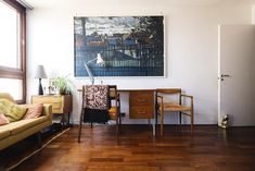 Mid-century Barbican flat