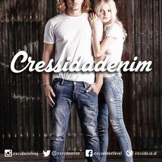 Let's denimmate today #Cressida #CressidaONL #cressidaclothing #bdg #indonesia #fashion #fashionbdg #fashionblogger #fashionista #style #badboy #otd #denim #mate #happyweekend