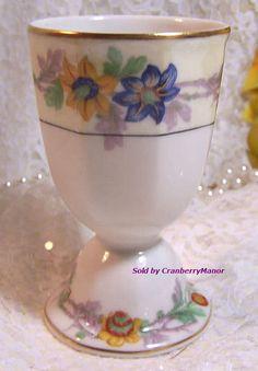 Theodore #Haviland #Limoges #France #Miami Double Egg Cup #Vintage 1920s #French #Designer #Gift #GotVintage