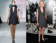 Alison Pill In Christian Dior – 'The Newsroom' Season 2 Premiere
