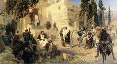 Василий Поленов. Христос и грешница