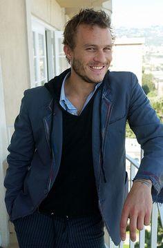 Heath Ledger, a really good pic of him.