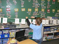 Retractable number line and other activities for early elementary.  The math tools on this blog look interesting!