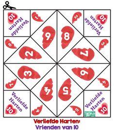Download happertjes verliefde harten en splitsen - Topwijs Social Skills, Math Activities, Mathematics, Homeschool, Teaching, Initials, Kids Math, Dyscalculia, Learning Games