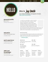 Creative Resume Templates   Like This Design