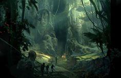 Lord of the Apes. 2008. Numérique. Au cœur de la jungle africaine, l'entrée cachée de Pellucidar.