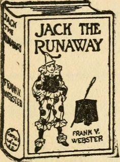 Jack The Runaway - rare vintage book