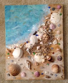 What I did with some of my shells from Sanibel island.What I did with some of my shells from Sanibel island.What I did with some of my shells from Sanibel island. What I did with some of my shells from Sanibel island. Seashell Painting, Seashell Art, Seashell Crafts, Crafts With Seashells, Sea Crafts, Nature Crafts, Baby Crafts, Food Crafts, Sea Art