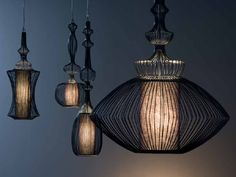 Elegant and stylish wire shade lamps
