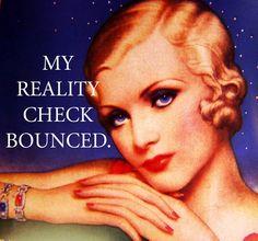 Vintage, humor, retro, funny card, @ P. Guhin